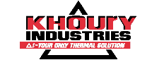 Khoury Industries – Manufacturer of thermal test solutions equipment – Bellingham, Massachusetts Logo