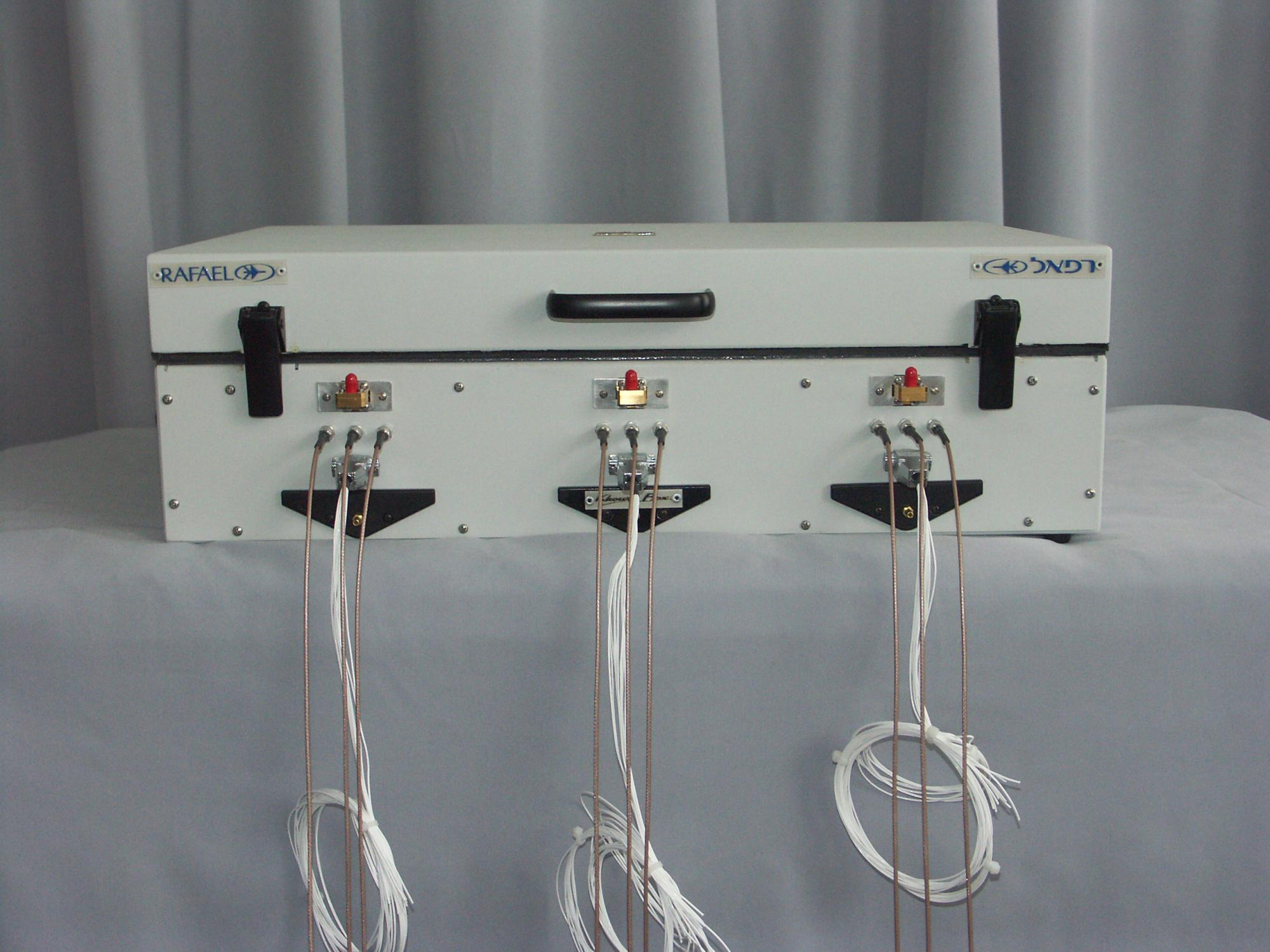 Khoury Box Microwave testing wave guides