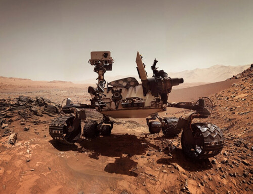 Mars Rover Ready For Thermal Testing