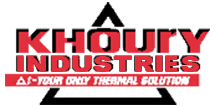 Khoury Industries – Manufacturer of thermal test solutions equipment – Bellingham, Massachusetts Logo